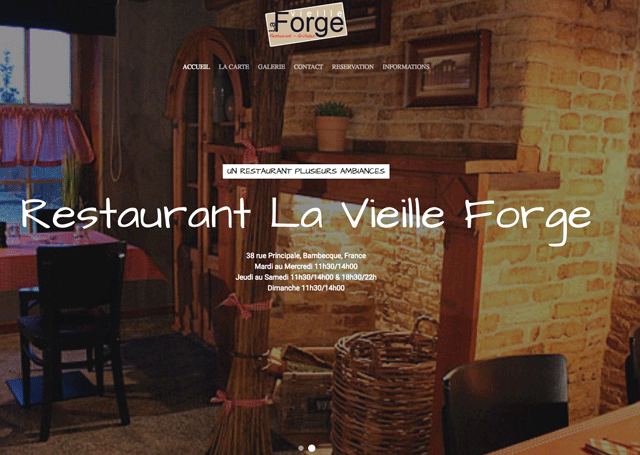 Restaurant La Vieille Forge